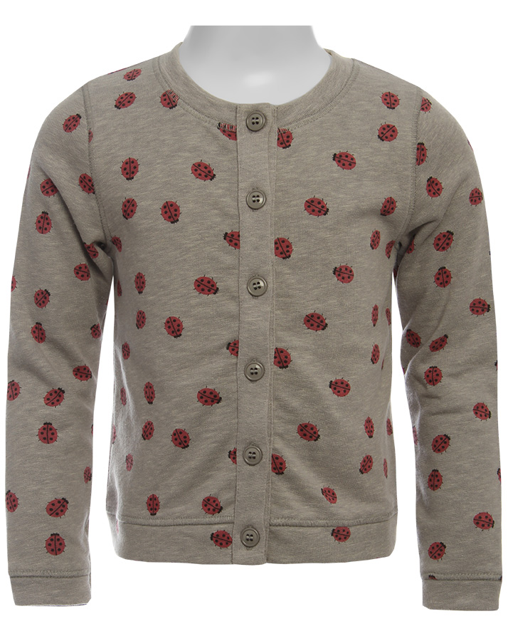 Sweatjacke, ca. 55 Euro, von nice things mini