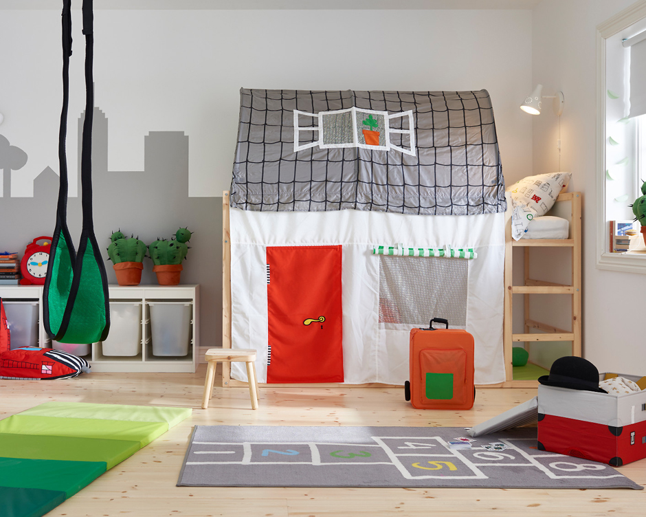 Innovative Ikea Hacks für's Kinderzimmer – Das Kinderbett KURA